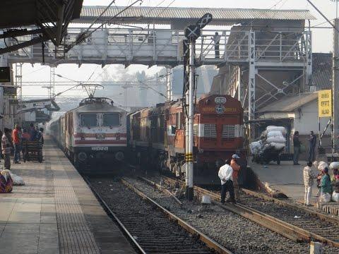 Mumbai Ahmedabad Full Journey Compilation: Shatabdi Overtake and High Speed Crossings