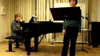 Marie dans Die Kartenlegerin de Schumann Janvier 2011