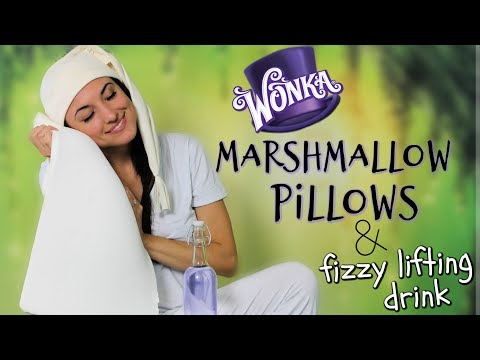 Marshmallow Pillows + Fizzy Lifting Drink  | FICTION FOOD FRIDAY