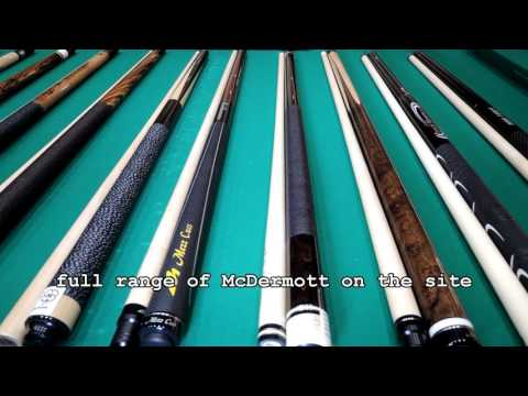 World Cue Sports McDermott Cues