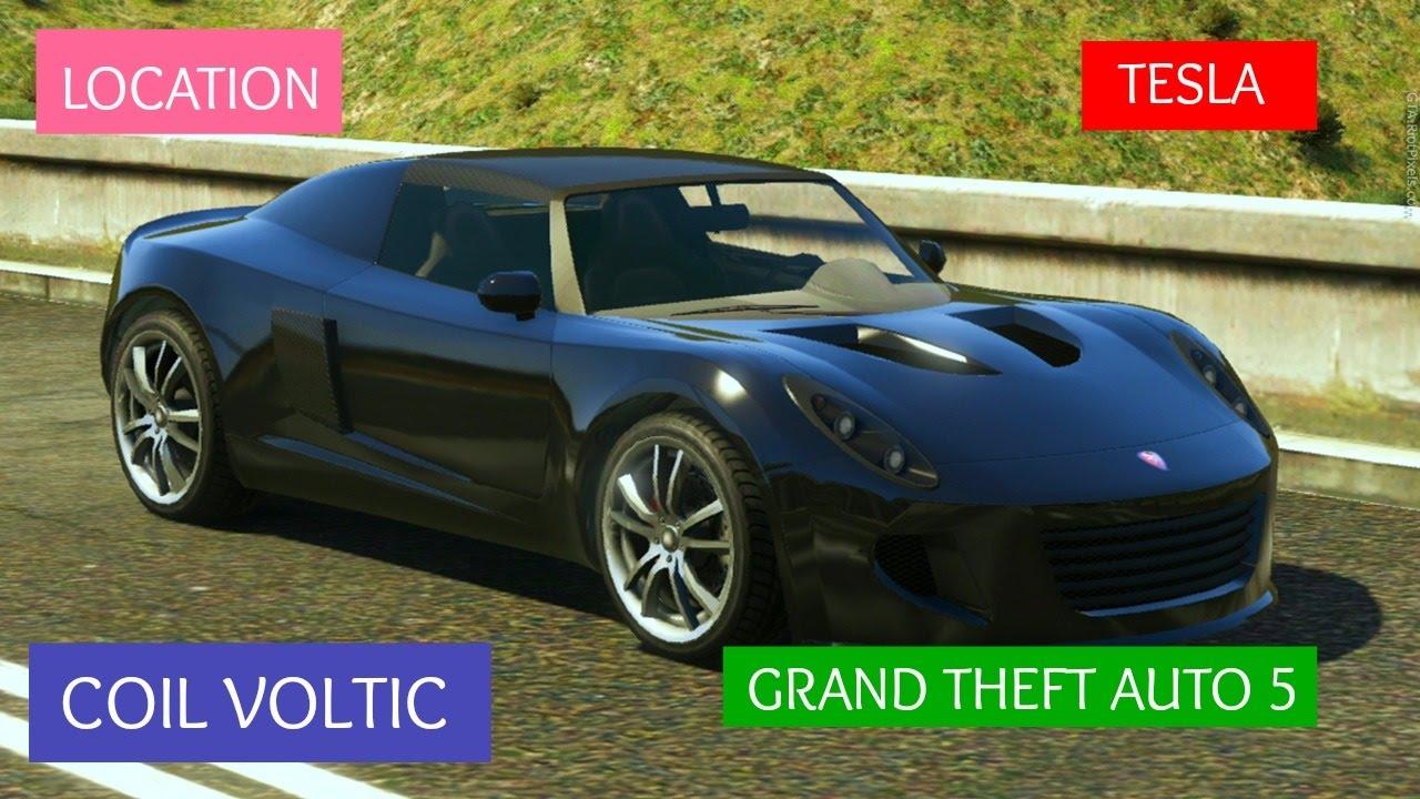 GTA 5 Coil Voltic spawn location. (AKA Tesla) - YouTube