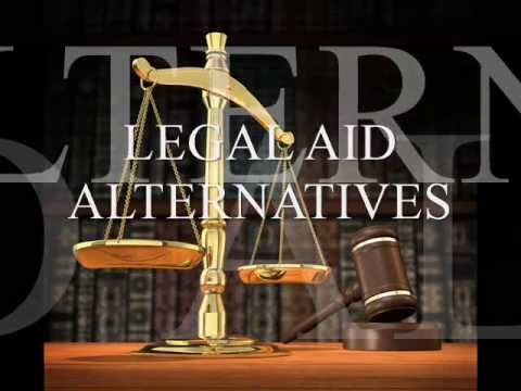 Can't Afford A Lawyer or Attorney Legal Aid Alternatives A D