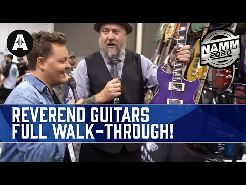 Reverend Guitars Full Walk-Through With Danish Pete & Ken Haas! - NAMM 2020