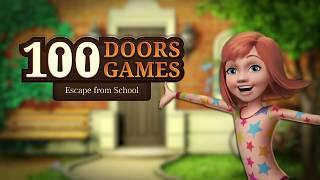 100 Doors Games Escape from school Level 48 Walkthrough