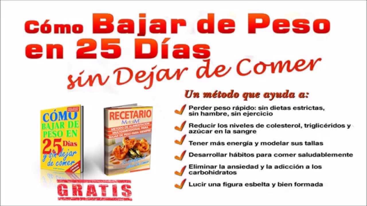 libro como bajar de peso en 25 dias pdf