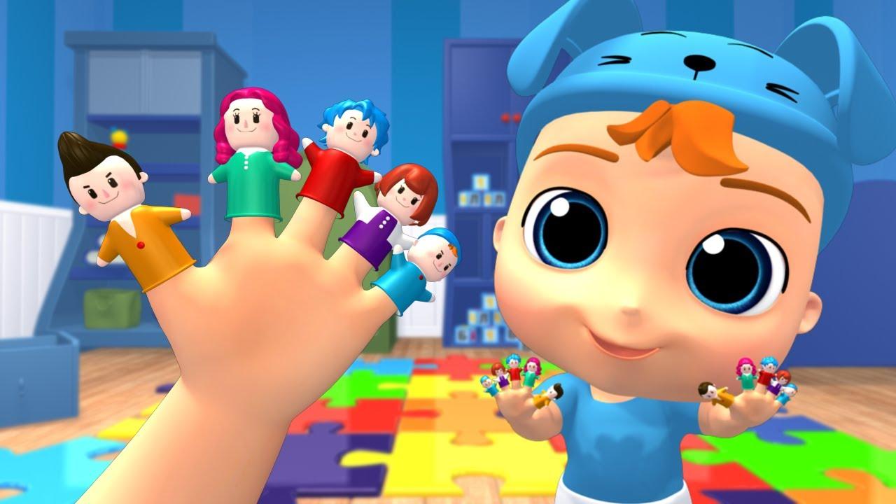 Daddy Finger Baby Nursery Rhymes & Kids Songs