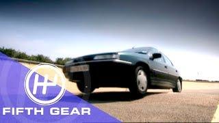 Fifth Gear Best Speed To Go Over Speed Bumps смотреть
