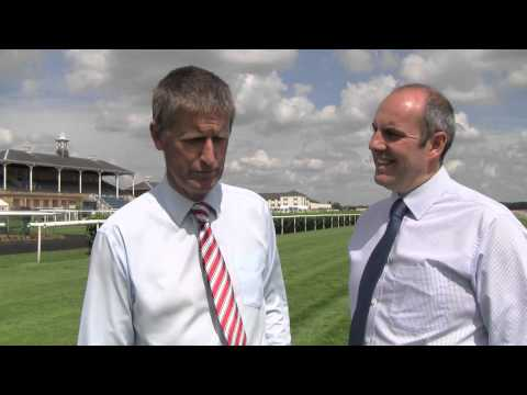 Doncaster Races - Clerk Of The Course Interview Part 1