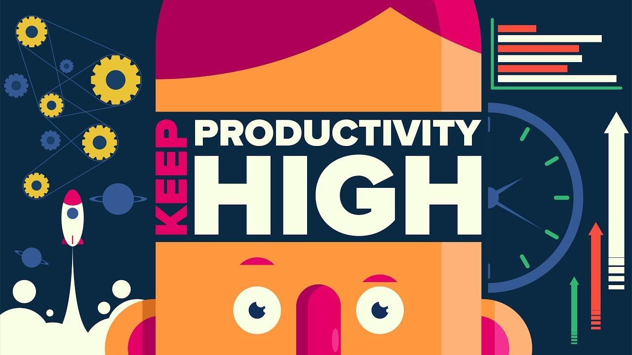 نتيجة بحث الصور عن How to be high-productivity?
