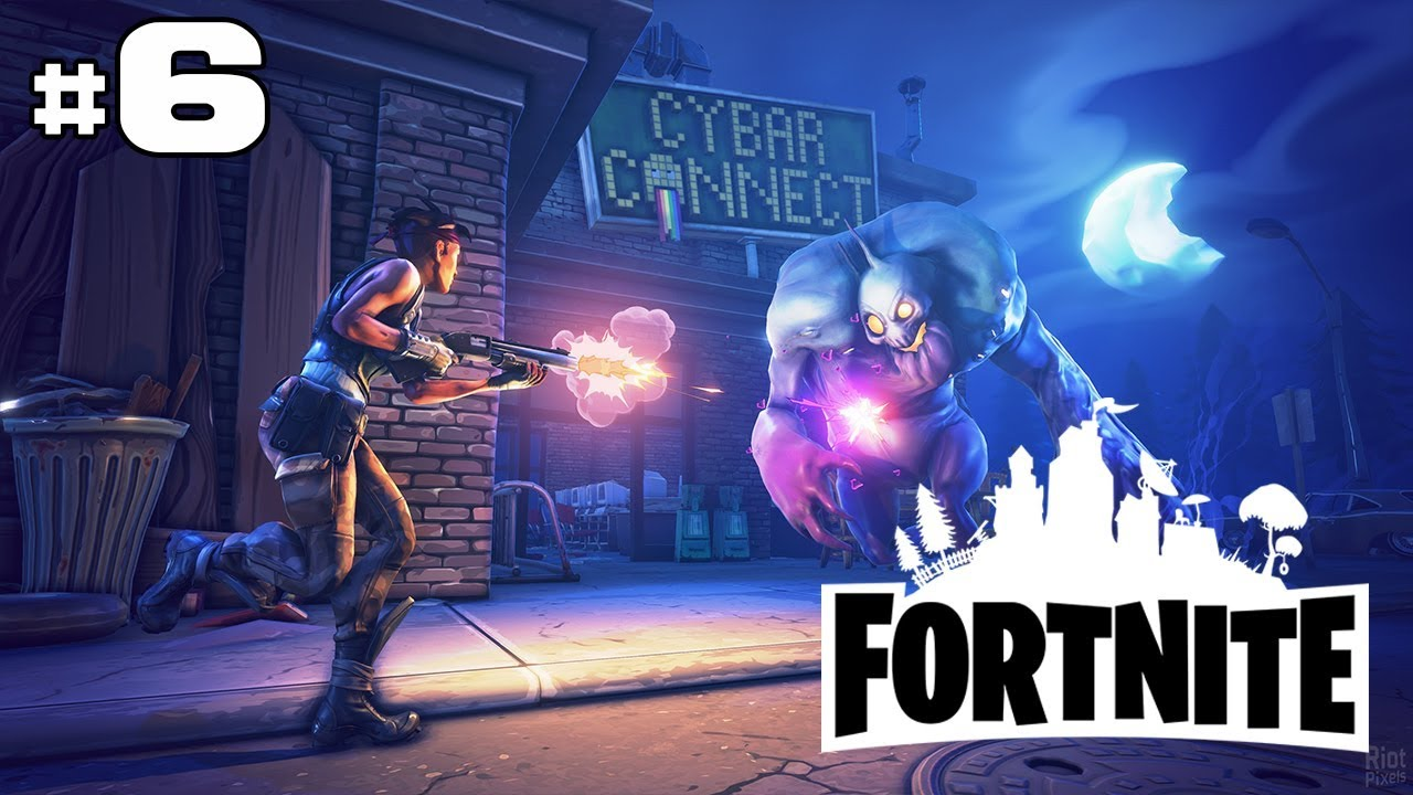 FORTNITE EARLY ACCESS - Sauvons des gens ! HD - YouTube