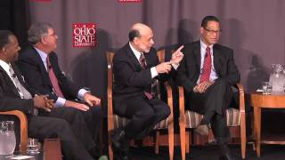 Ben Bernanke visits Fisher College of Business