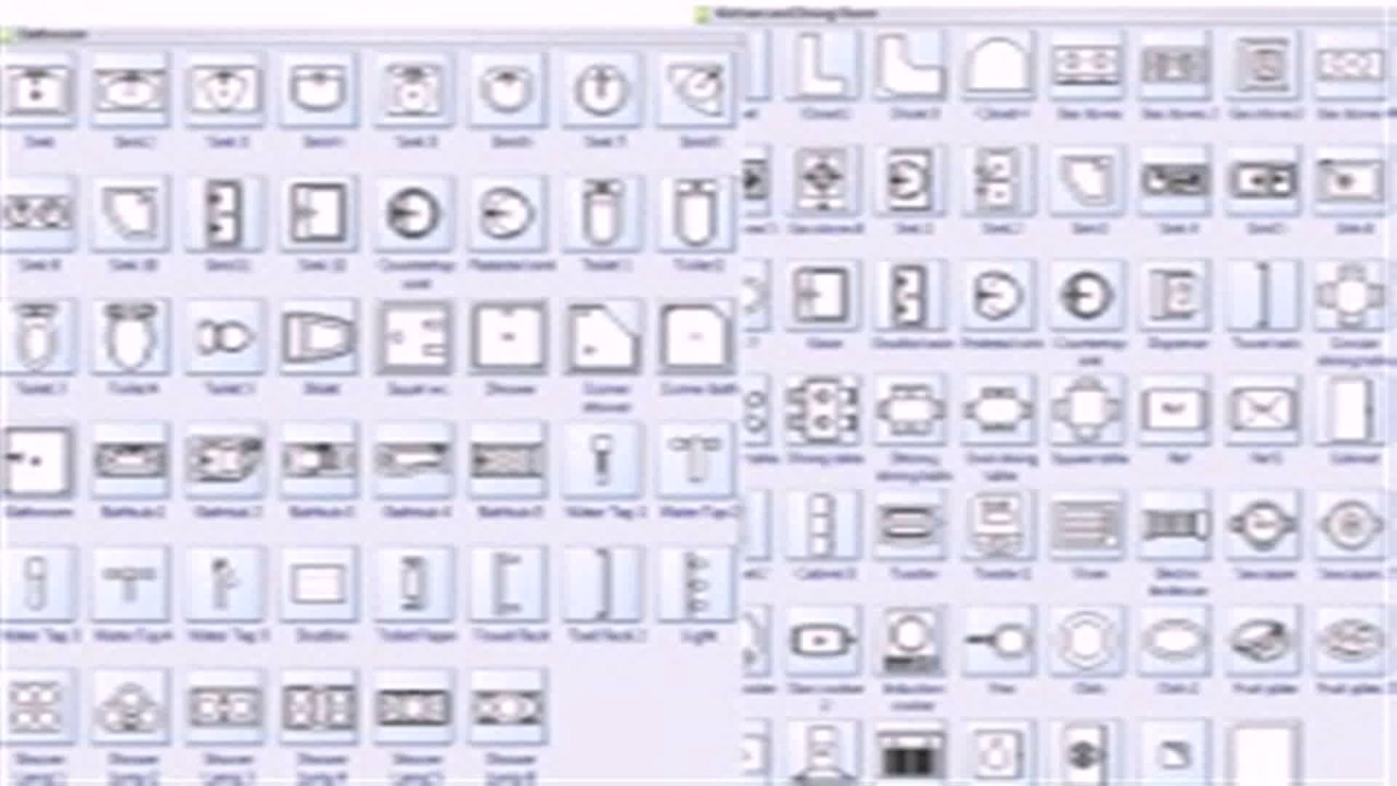 Commercial floor plan symbols youtube for How to read a floor plan symbols