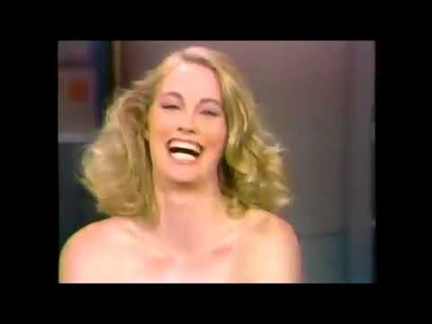 Cybill Shepherd on Letterman, May 7, 1986.