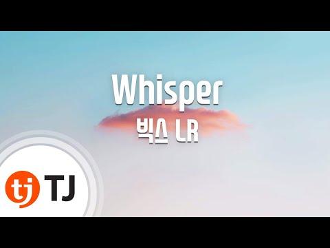 [TJ노래방] Whisper - 빅스LR(Vixx LR) / TJ Karaoke