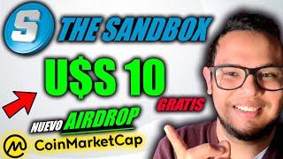 CRIPTOMONEDAS GRATIS | AIRDROP THE SANDBOX en COINMARKETCAP