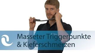 Masseter Triggerpunkte & Kieferschmerzen lösen mit der Massagefee