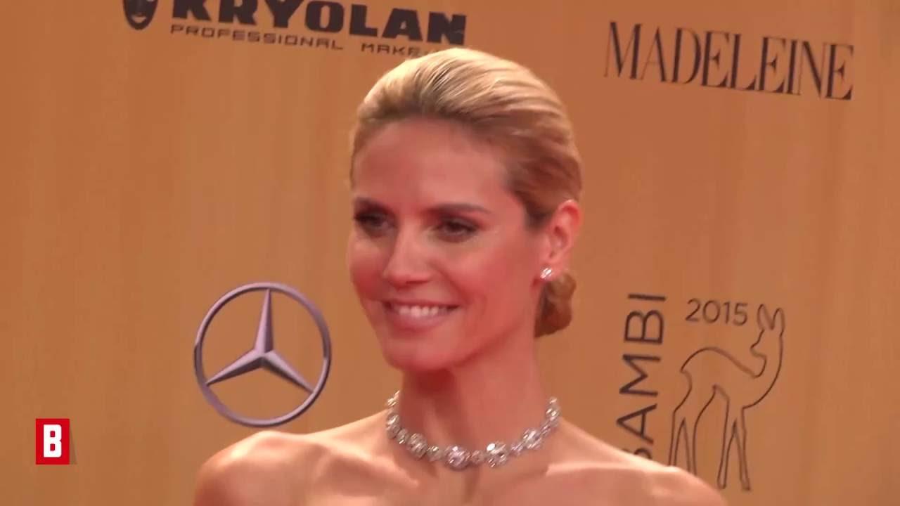 Heidi Klum - So ist die Model-Mama hinter den Kulissen  - BUNTE TV