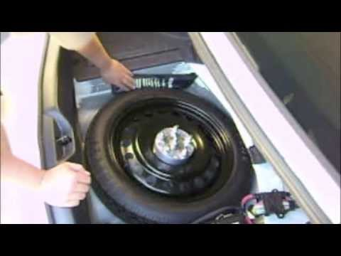 Spare Tire Video Trunk Install Youtube