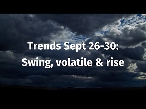 Trend Forecast Sept 26-30: Swing, volatile & rise moves