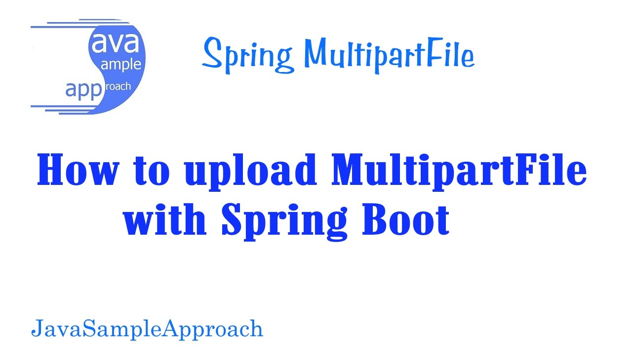 How to upload MultipartFile with Spring Boot