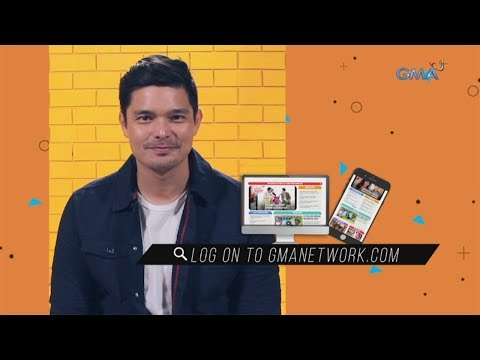 Dingdong Dantes invites you to visit gmanetwork.com - 동영상