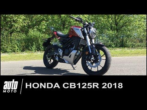 Honda CB125R 2018 Essai POV Auto-Moto.com
