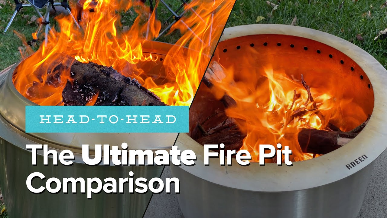 Solo Stove Vs Breeo The Ultimate Fire Pit Comparison Giveaway Youtube