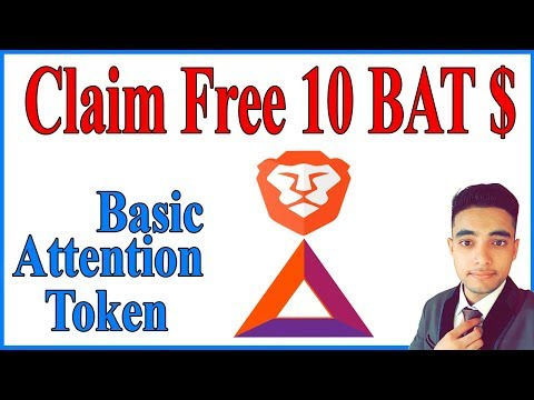 Get Free #BAT Basic Attention Tokens Before it