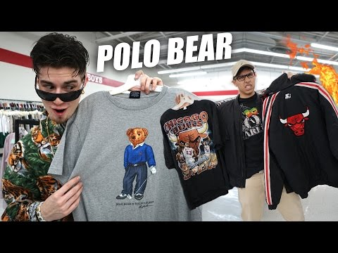 Trip to the Thrift #167 | Polo Bear, Dior, Bulls Grailz, & Tons of Tommy Hilfiger!