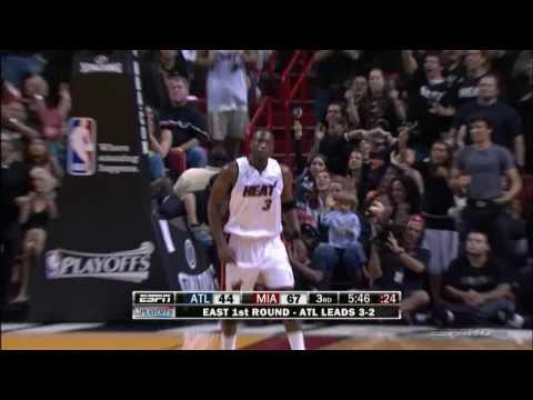 [HD 2009 Playoffs] Dwyane Wade Highlights - Hawks Vs. Heat - Game 6