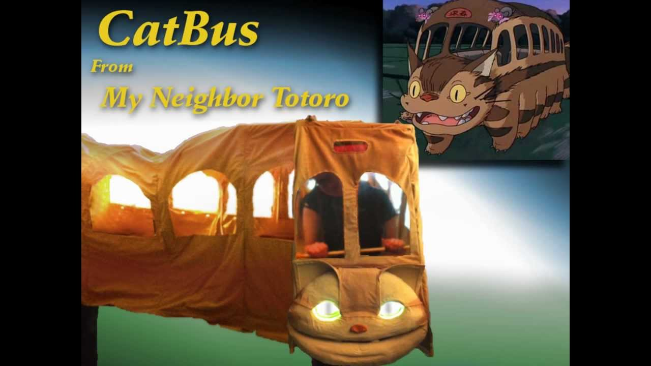 Catbus Cosplay Costume By Purple Koi Designs - YouTube