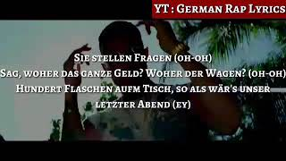 Azet & Zuna - Fragen ( HQ Lyrics) (Text) (Download) l German Rap Lyrics