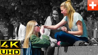 Prank! Girl kissing girls hands (ORIGINAL)