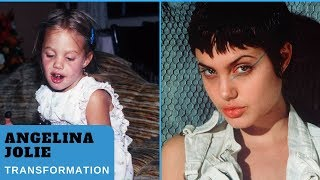 Angelina Jolie's Face & Body Transformation 1975-2018