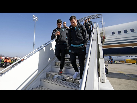 FC Barcelona: Trip to Paris