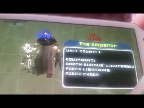 Star Wars Battlefront 2 Ps Vita edition.