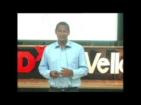 Kick for a change: Dr. Abhijeet Barse at TEDxVITVellore