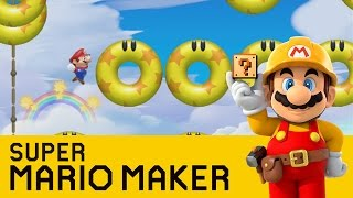 Super Mario Maker - Doughnuts