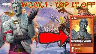 WEEK 7 - TOP IT OFF! // FROSTNITE // Fortnite STW // (No Commentary - Love Ranger)