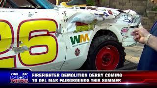 San Diego Burn Institute  Demolition Derby