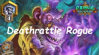 Hearthstone: NEW Deathrattle Rogue #1: Rastakhan's Rumble - Standard Constructed Post-Nerf