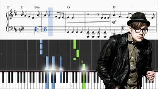 How to play SUGAR WERE GOING DOWN by FALL OUT BOY on piano. SHEETS:...