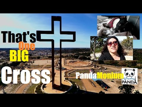 Drone Shots Of The Empty Cross & Exploring Kerrville, Texas