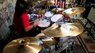 Glen Monturi - Ging Gang Gong De Do Gong De Laga Raga (Rob Zombie Drum Cover)