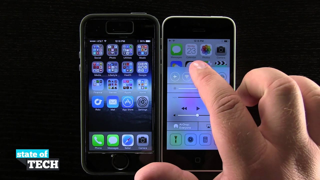 Iphone 5c Quick Tips  How To Use Airdrop