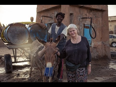 Ann Widdecombe visits Mauritania with SPANA