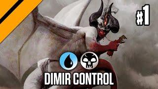 Dimir Control - M21 Premier Drafts P1   MTG Arena