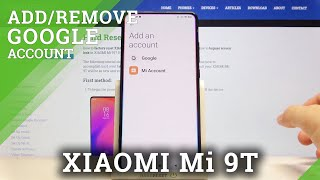 How to Add Account to Google Play Store on XIAOMI Mi 9T - Log in Google Play Store