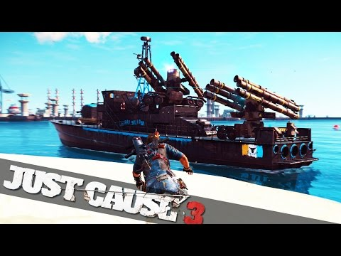 STRONGEST SHIP EVER MADE :: Just Cause 3 Funny Epic Moments!