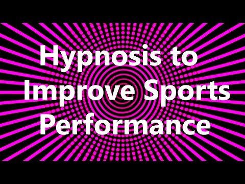 Hypnosis to Improve Sports Performance